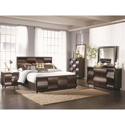 Magnussen Home Fuqua King Bedroom Group