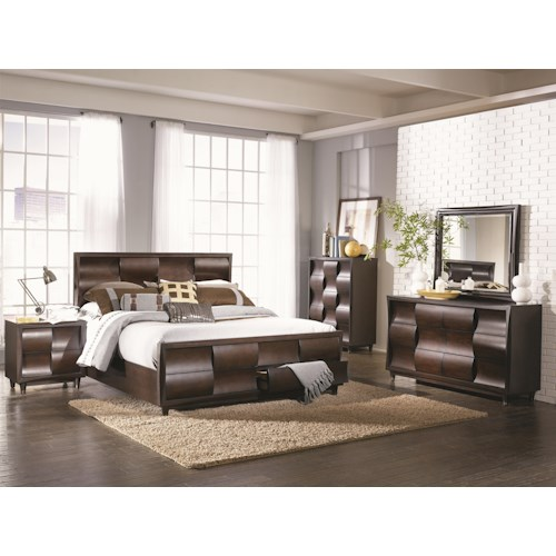 Morris Home Furnishings Fairfield Queen Bedroom Group