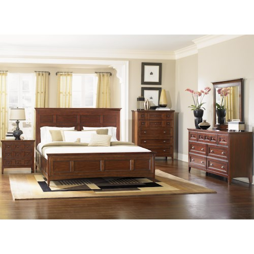 Magnussen Home Harrison Queen Bedroom Group