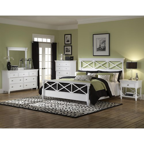 Magnussen Home Kasey  California King Bedroom Group