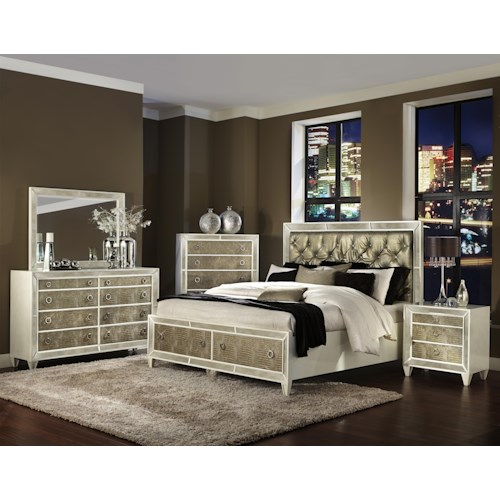 Vendor 2014 Miami King Bedroom Group