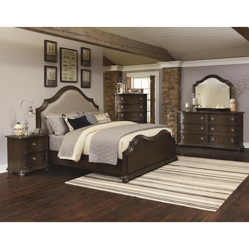 Magnussen Home Muirfield Bedroom California King Bedroom Group