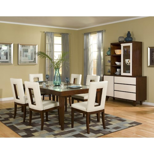 Najarian Enzo Dining Casual Dining Room Group