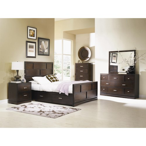 Najarian Key West California King Bedroom Group