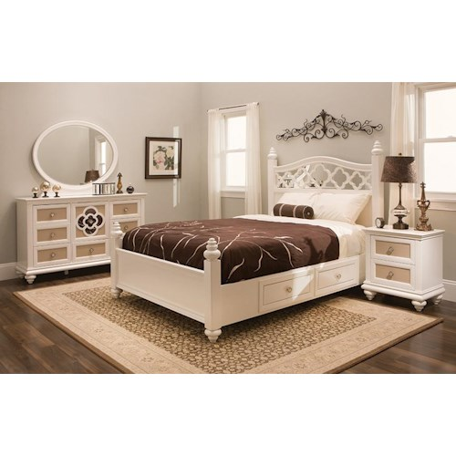 Najarian Paris Youth Bedroom Bedroom Group