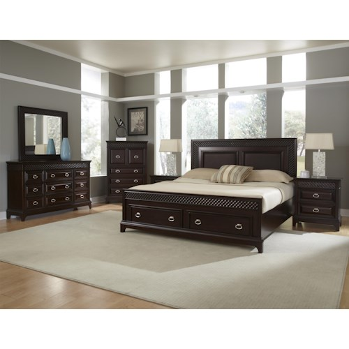 Najarian Sonoma King Bedroom Group