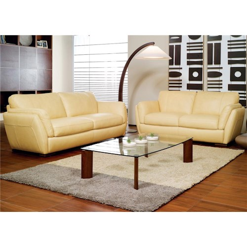 Natuzzi Editions A399 Stationary Living Room Group