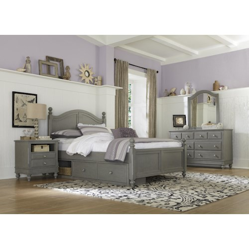 NE Kids Lake House Twin Payton Storage Bed Group 5