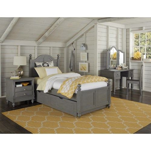 NE Kids Lake House Full Payton Trundle Bed Group 6
