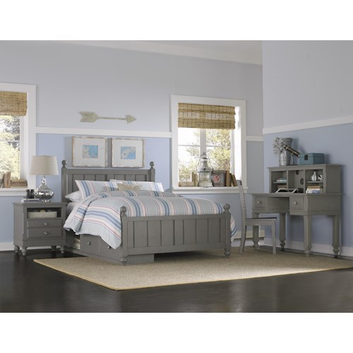NE Kids Lake House Twin Kennedy Storage Bed Group 3