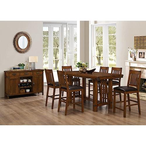 New Classic Buchanan Table & Chair Set - Pub Table