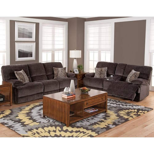 New Classic Idaho Reclining Power Living Room Group