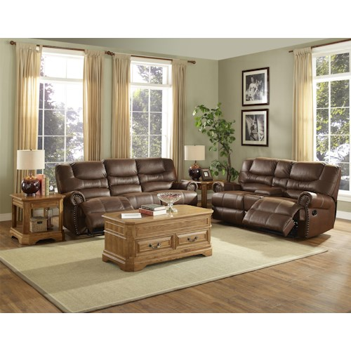 New Classic Laredo Reclining Living Room Group