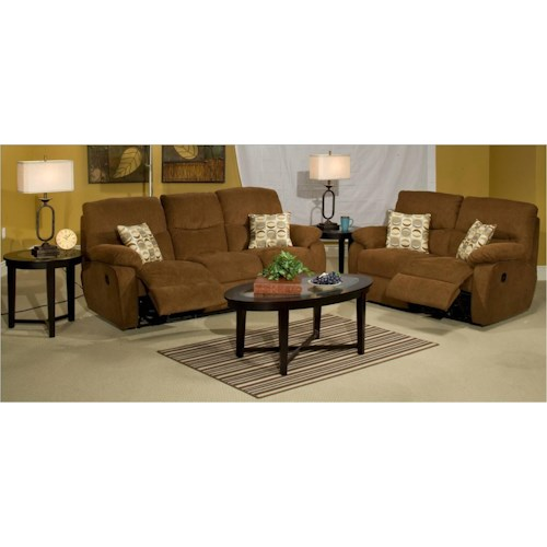 New Classic Manchester Reclining Living Room Group