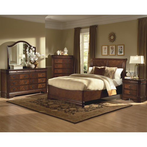 New Classic Sheridan King Bedroom Group