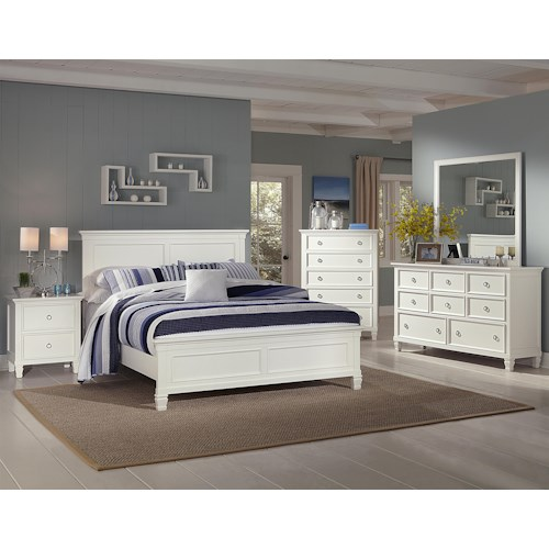 New Classic Tamarack Cal King Bedroom Group
