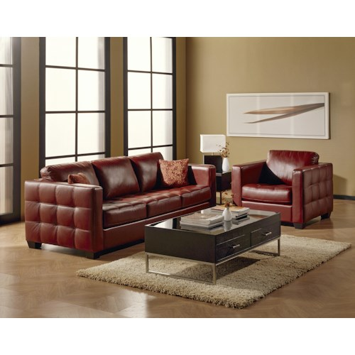 Palliser Tango Stationary Living Room Group