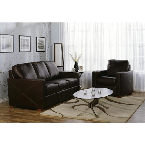 Palliser Carlten 77342 Stationary Living Room Group