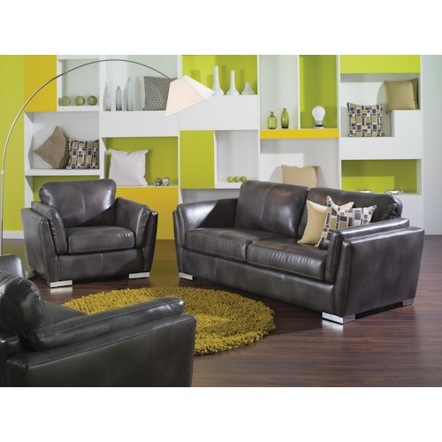 Palliser Iris Stationary Living Room Group