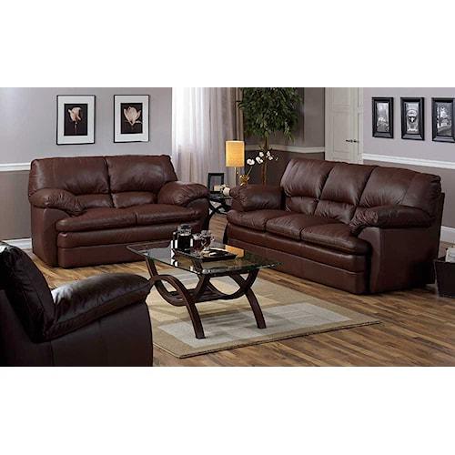 Palliser Marcella 77563 Stationary Living Room Group