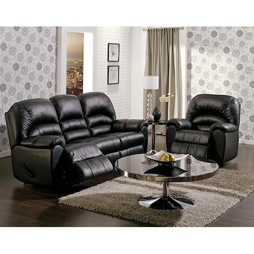 Palliser Taurus Reclining Living Room Group