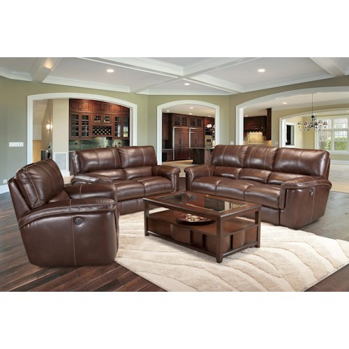 Parker Living Hitchcock Reclining Living Room Group