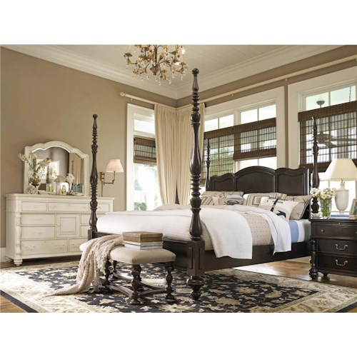 Morris Home Furnishings Paula Deen Home Queen Bedroom Group