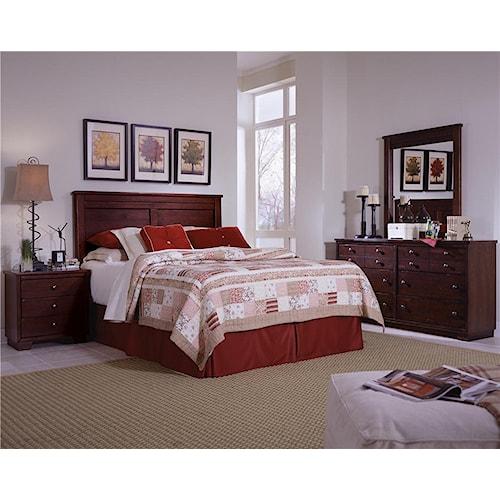 Progressive Furniture Diego King Bedroom Group