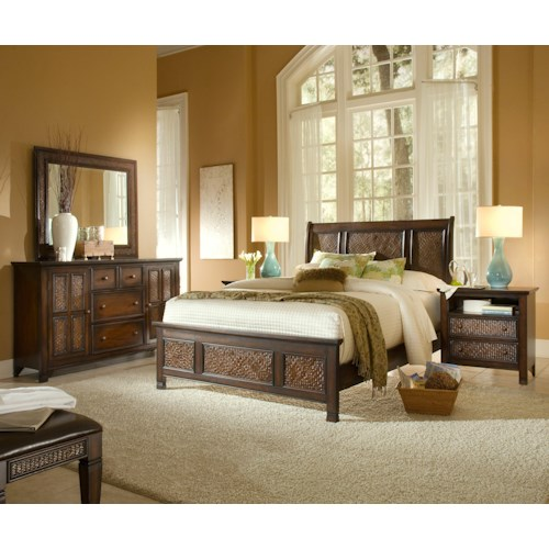 Progressive Furniture Kingston Isle Queen Bedroom Group
