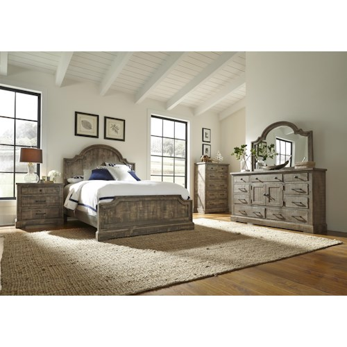 Progressive Furniture Meadow Queen Bedroom Group