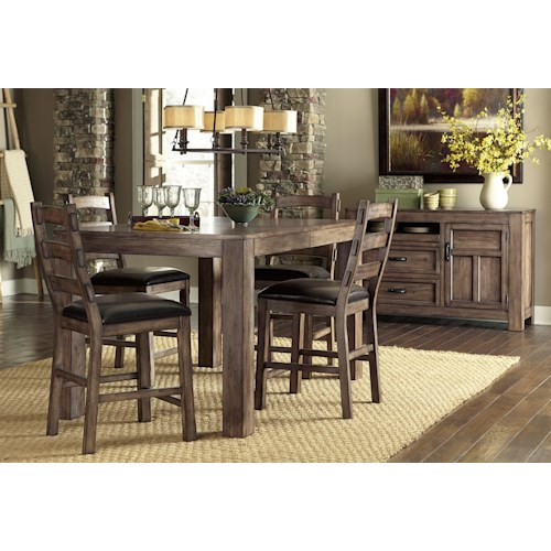 Progressive Furniture Boulder Creek Casual Dining Room Group