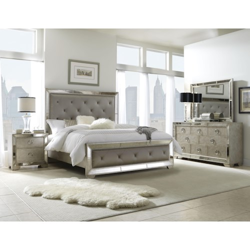 Pulaski Furniture Farrah Queen Bedroom Group