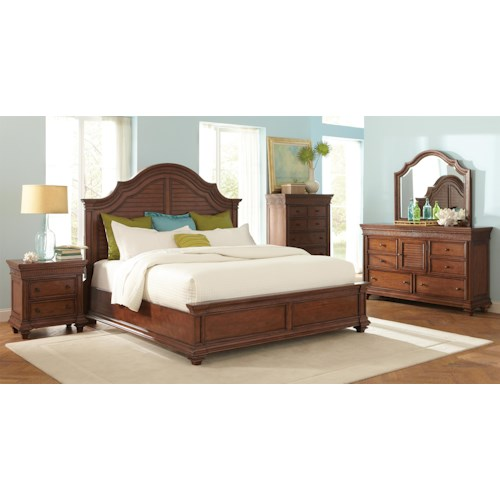 Riverside Furniture Windward Bay King Bedroom Group