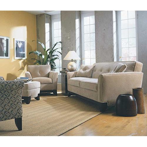 Rowe Berkeley Stationary Living Room Group