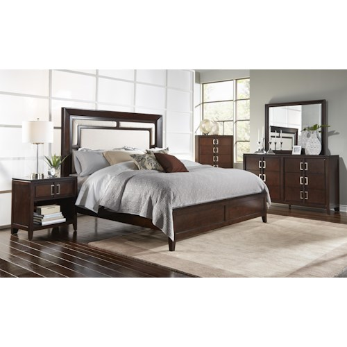 Samuel Lawrence Brighton Cal King Bedroom Group