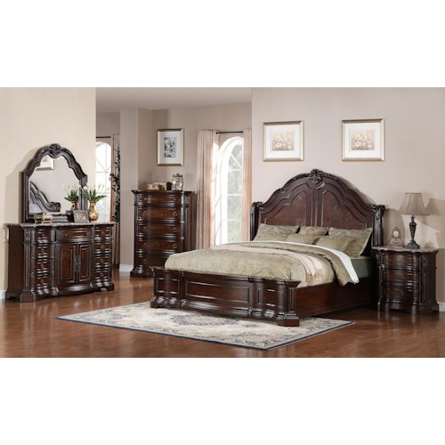 Samuel Lawrence Edington Queen Bedroom Group
