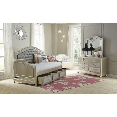 Samuel Lawrence Lil Diva Twin Bedroom Group