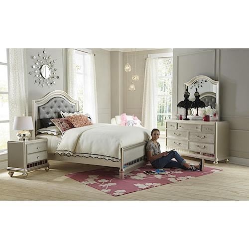 Samuel Lawrence Lil Diva Full Bedroom Group