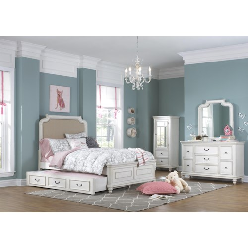 Samuel Lawrence Madison Full Bedroom Group w/ Trundle