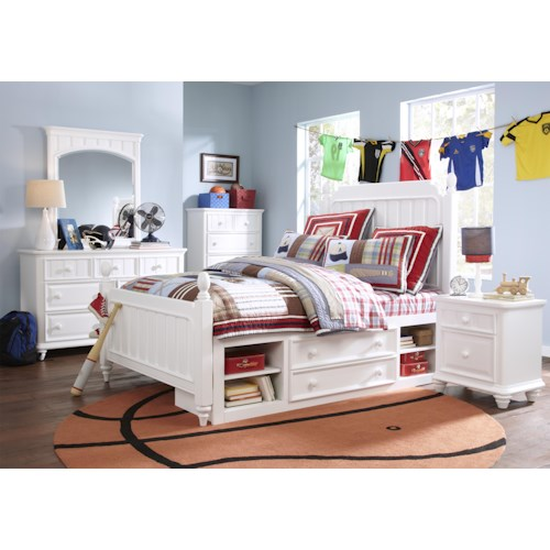 Morris Home Furnishings Shelbourne Full Bedroom Group
