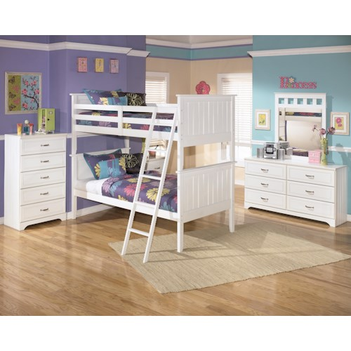Signature Design by Ashley Lulu Twin Bunk Bedroom Group