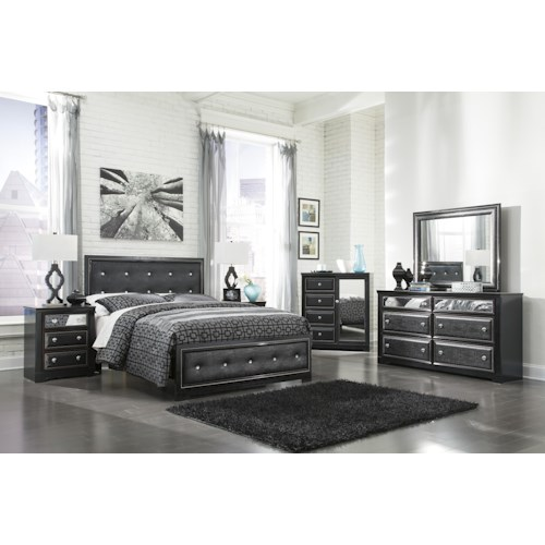 Signature Design by Ashley Furniture Alamadyre Queen Bedroom Group