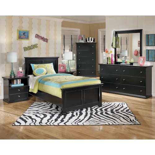 Signature Design by Ashley Maribel Twin Bedroom Group
