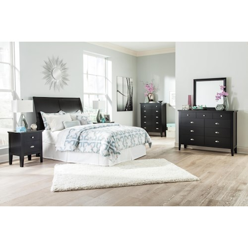 Signature Design by Ashley Braflin King Bedroom Group