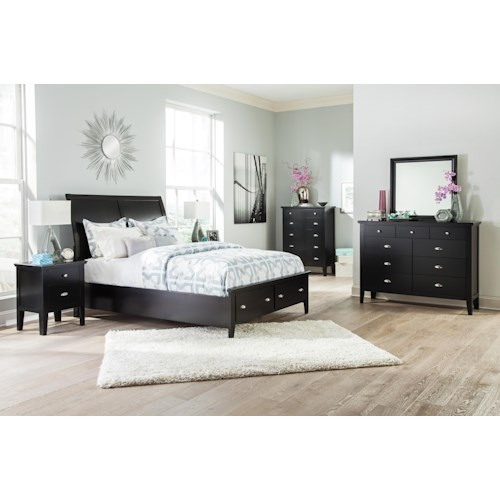 Signature Design by Ashley Braflin California King Bedroom Group
