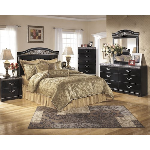 Signature Design by Ashley Constellations Queen/Full Bedroom Group