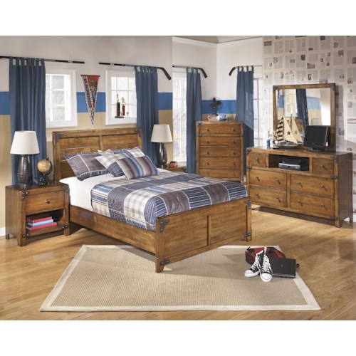 Signature Design by Ashley Delburne Full Bedroom Group