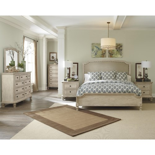 Signature Design by Ashley Clayton 5-Piece King Bedroom Set
