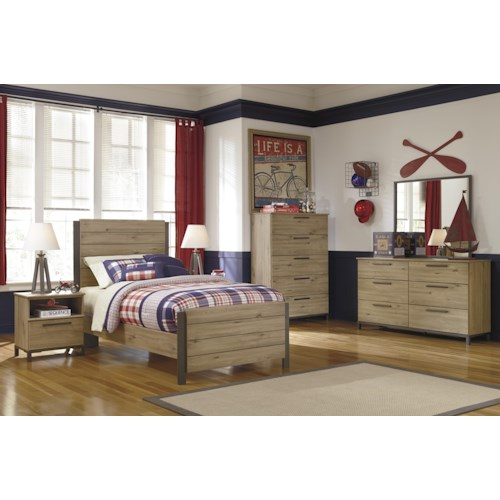 Signature Design by Ashley Dexifield Twin Bedroom Group