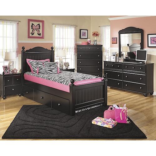 Signature Design by Ashley Jordan Twin Bedroom Group